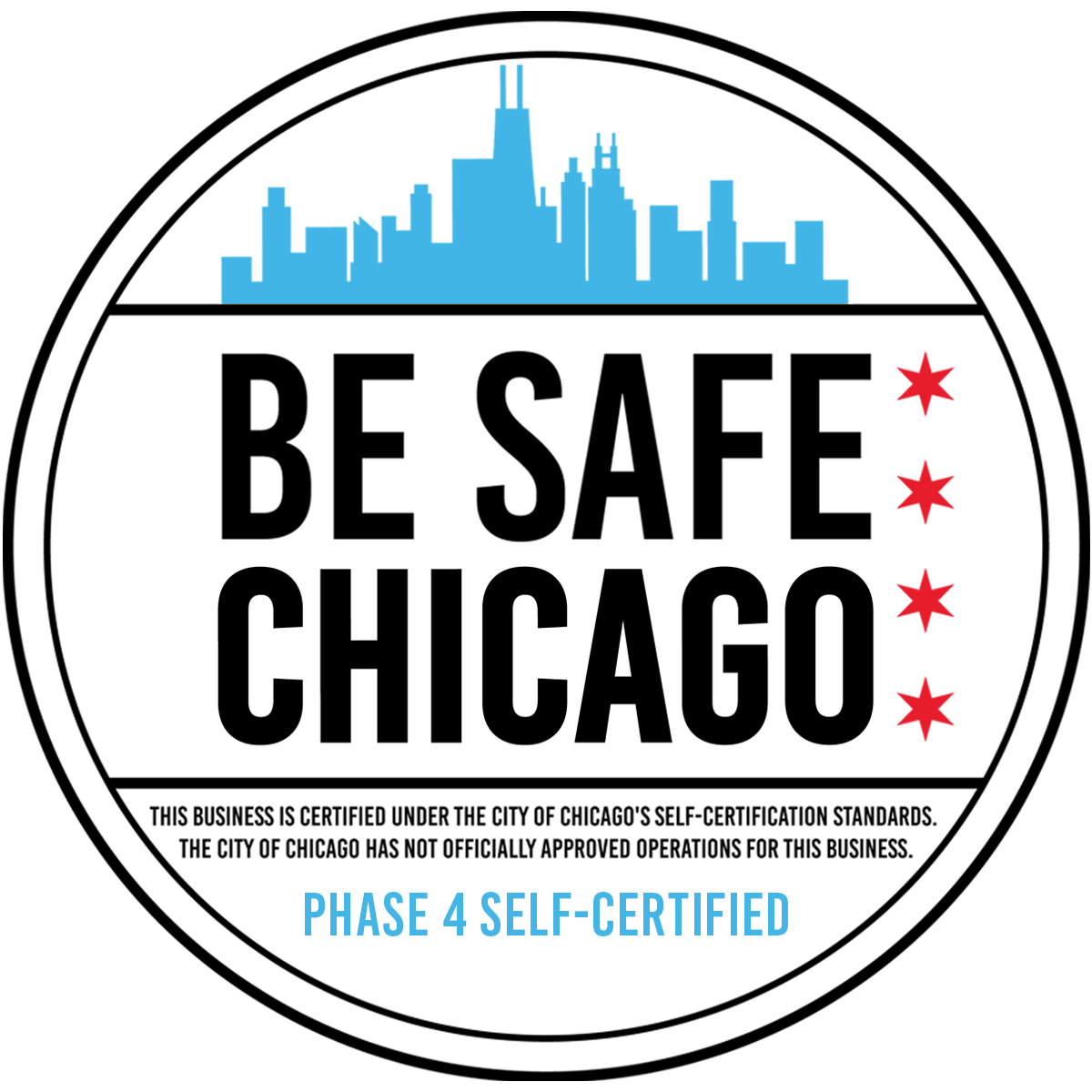 """Be Safe Chicago Phase 4 Self-Certified"
