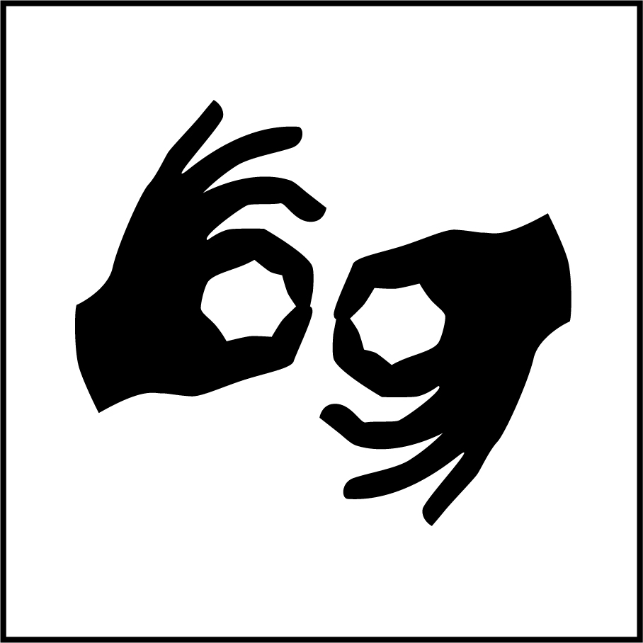Icon for American Sign Language