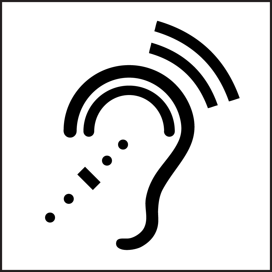 Icon for Assistive Listening Devices